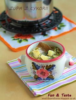 zupa z cykorią