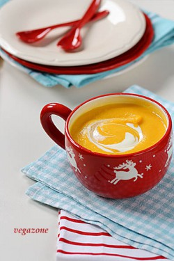 zupa z dyni na słodko