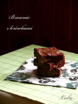 Brownie z krówkami