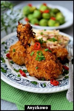 Chrupiące pałki z kurczaka
