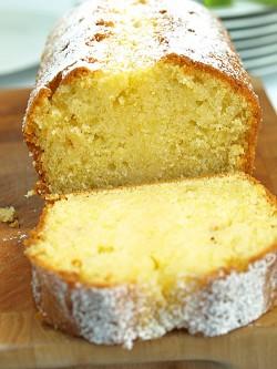 Ciasto cytrynowo-waniliowe z syropem cytrynowym inspirowane recepturą Pani Neli Rubinstein
