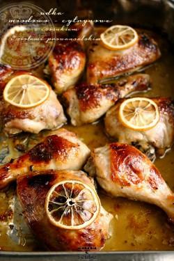 Kurczak cytrynowo – miodowy