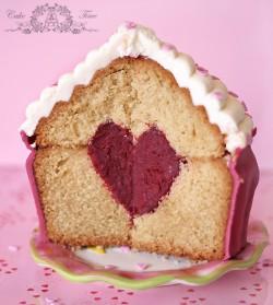 muffinka max z sercem w srodku