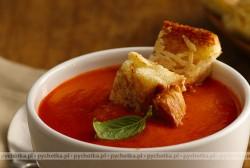 Pomidorowy krem z ryżem