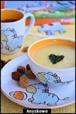 Zupa krem z kalafiora z miętą