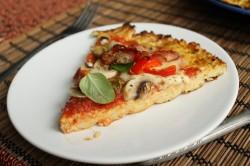 Bezglutenowa pizza na superzdrowym cieście