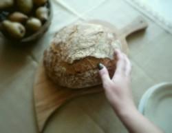 Chleb owsiany pieczony w naczyniu żaroodpornym(World Bread Day!)