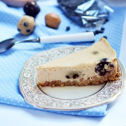 cookie dough mosaic cheesecake