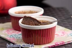 creme brulee czekoladowy
