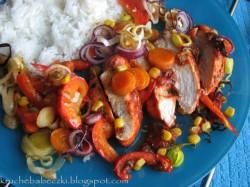 Curry z kurczaka i bakłażana