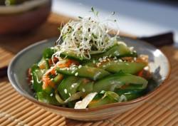Japońska sałatka z ogórkiem