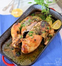 Maślano-ziołowy kurczak