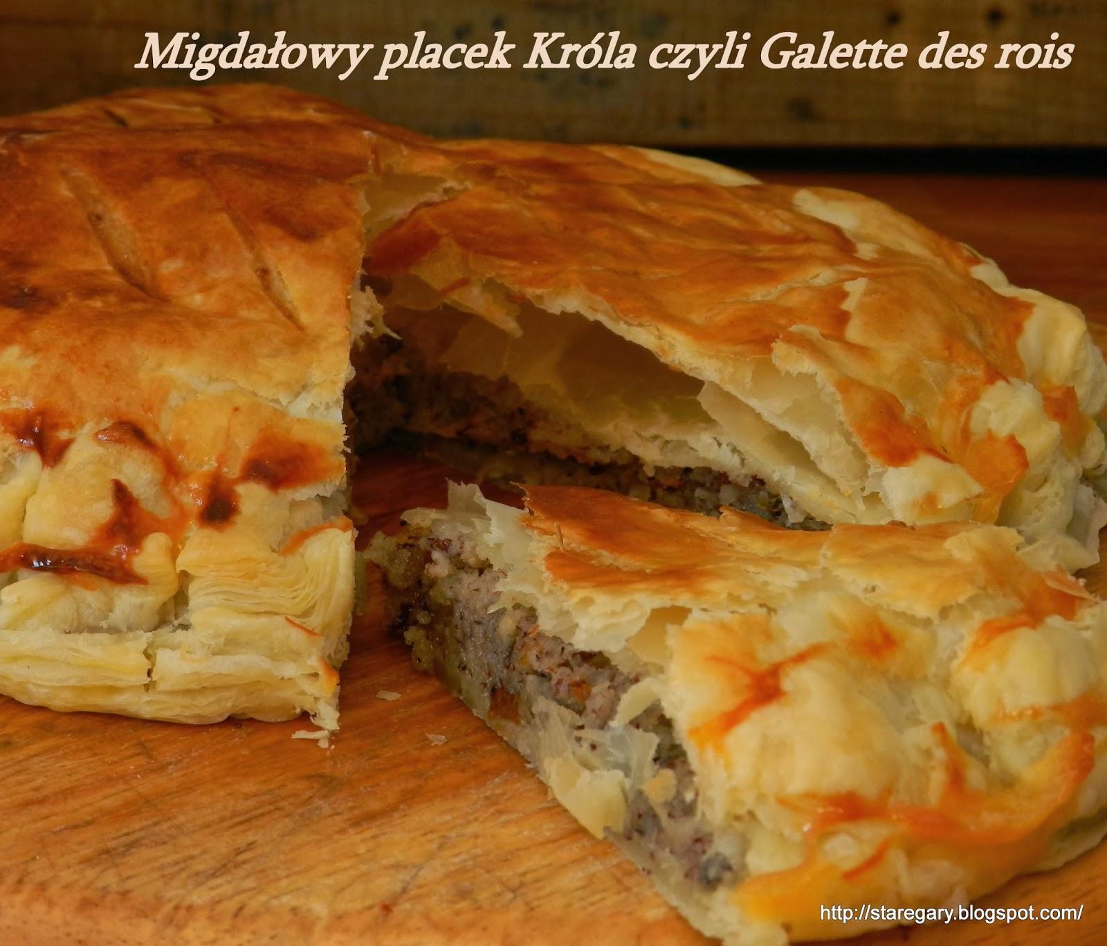 Migda owy placek kr la czyli galette des rois for Decoration galette des rois