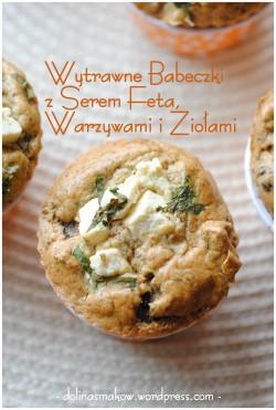 Muffinki owsiane z serem feta