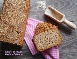 Pelnoziarnisty chleb orkiszowy na zakwasie