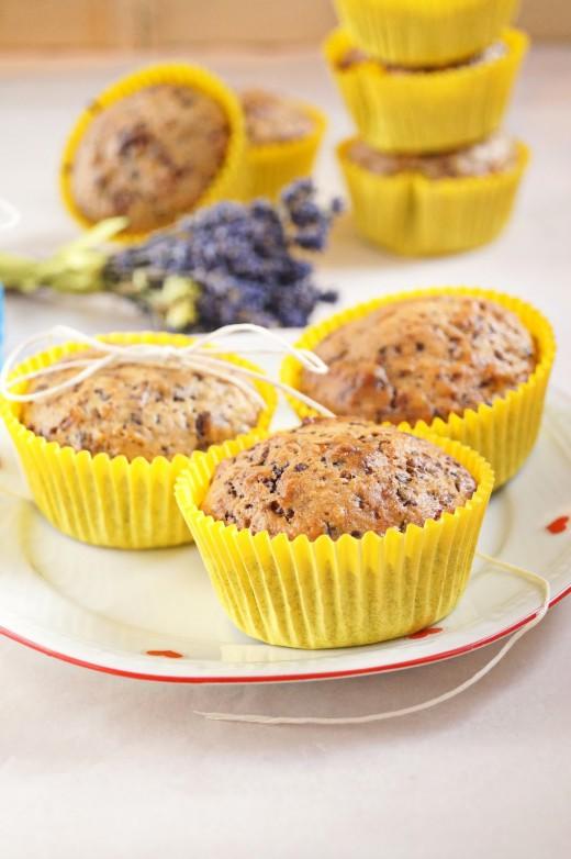 Wafelkowe muffinki