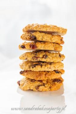 Ciasteczka owsiane z bakaliami, dla tych dużych i tych małych