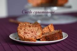 Ciasto cynamonowe z domowym musem jabłkowym | Moja Delicja