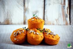 Dyniowo – marchewkowe muffinki