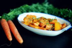 Glazurowana marchew z tymiankiem