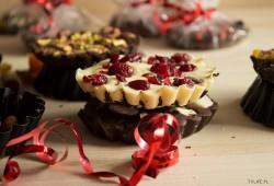 Handmade chocolate.