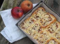jesienne bułeczki z jabłkami i orzechami