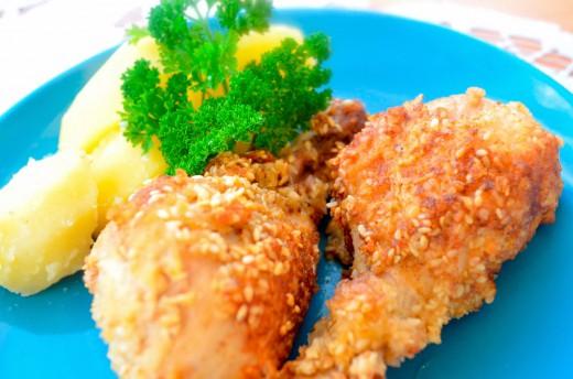 Kurczak w sezamie film