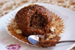 Pyszne orzechowe pełnoziarniste muffinki