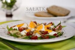 Sałatka z jajkiem | Moja Delicja