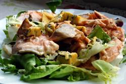 Sałatka z łososiem | 365 dni dookoła kuchni.