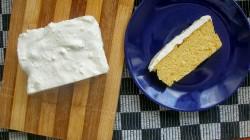sernik dyniowy – z puree z pieczonej dyni