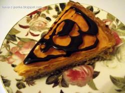 Tarta serowo-marchewkowa z galaretką pomarańczową na owsianym spodzie
