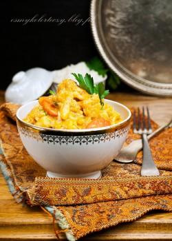 Wegetariańskie curry z kalafiora i marchewki