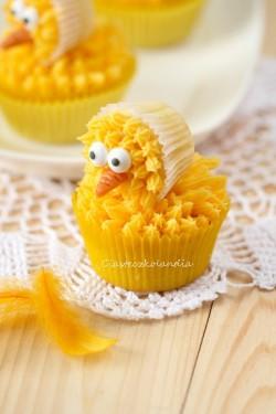 babeczki kaczuszki cupcake duck