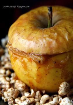Jabłka z dżemem