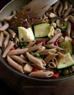 Makaronowy mix z patelni