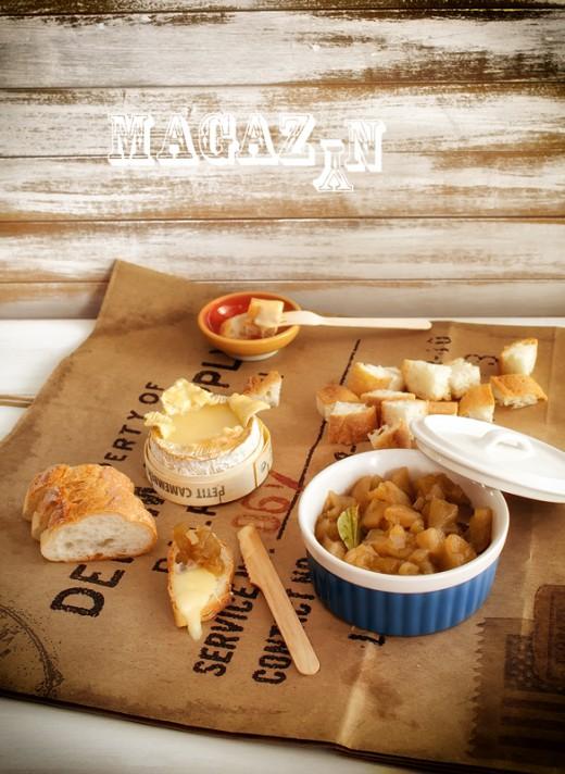 Oszukane fondue i chutney jabłkowy