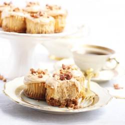 Peanut butter milkshake mini cheesecakes