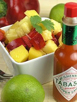 Pikantna salsa owocowa
