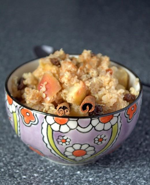 quinoa jak owsianka