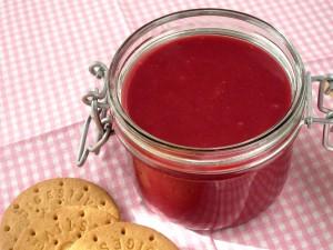Raspberry curd – krem malinowy