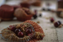 Żurawinowe muffiny