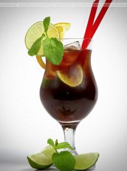 Brandy z coca-colą