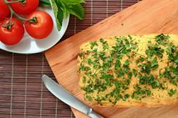 Chleb z chleba oraz ciekawy sposób na jajka