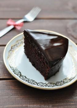 Ciasto mocno czekoladowe