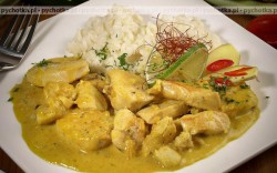 Curry z indyka z kokosem