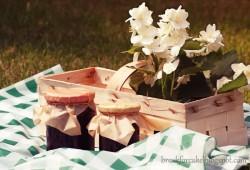 Dżem truskawkowy z kwiatem jaśminu