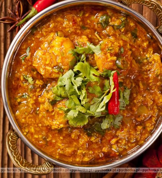 Jagnięcina w sosie curry