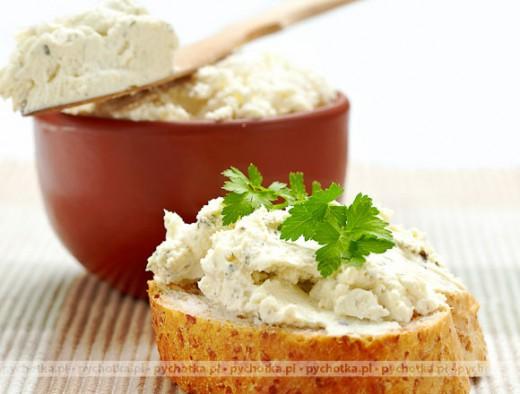Kanapki z pastą serową