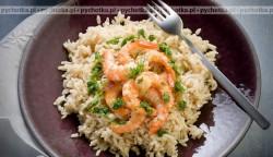 Krewetki z ryżem